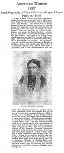 Clara Chapin Obituary