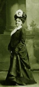 Clara Morgan Chapin circa 1901